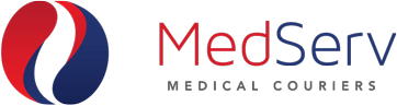 MedServ Medical Couriers Company Logo